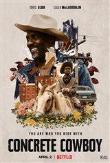 Concrete Cowboy (Netflix) Movie Poster