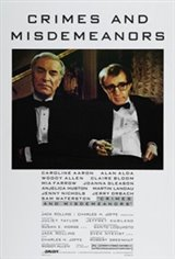 Crimes and Misdemeanors Movie Poster