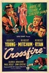 Crossfire (1947) Movie Poster
