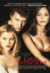 Cruel Intentions 20th Anniversary Movie Poster