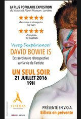 David Bowie is Affiche de film