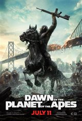 Dawn of the Planet of the Apes 3D Movie Poster