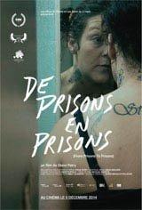 De prisons en prisons Affiche de film
