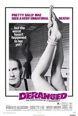 Deranged: The Confessions of a Necrophile Movie Poster