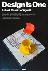 Design is One: Lella & Massimo Vignelli Movie Poster