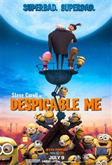 Despicable Me 3D Movie Poster