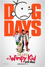 Diary of a Wimpy Kid: Dog Days Movie Poster