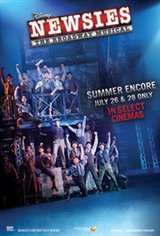 DISNEY'S NEWSIES: THE BROADWAY MUSICAL! - Summer Encore Movie Poster