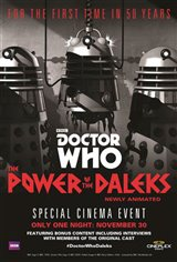 Doctor Who: The Power of the Daleks Movie Poster