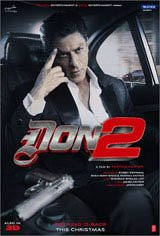 Don 2 in 3D Movie Poster