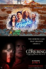 Double Feature: In the Heights + The Conjuring: The Devil Made Me Do It Affiche de film