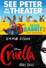 Double Feature: Peter Rabbit 2 + Cruella Affiche de film