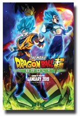 Dragon Ball Super: Broly Movie Poster Movie Poster