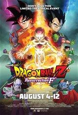 Dragon Ball Z: Resurrection 'F' Movie Poster