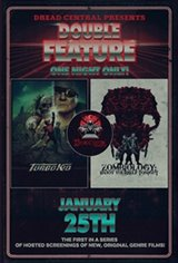 Dread Central Presents: Turbo Kid and Zombiology Double-Feature Movie Poster
