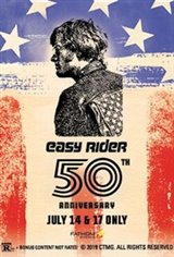 Easy Rider 50th Anniversary Large Poster