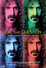 Eat That Question: Frank Zappa in His Own Words (v.o.a.) Affiche de film