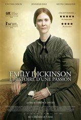 Emily Dickinson : L'histoire d'une passion Affiche de film