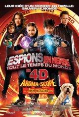 Espions en herbe: Tout le temps du monde 3D Movie Poster