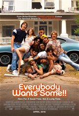 Everybody Wants Some!! Movie Poster Movie Poster