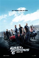 Fast & Furious 6: The IMAX Experience Movie Poster