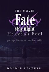 Fate/stay night [Heaven's Feel] 1 & 2 - Double Feature Movie Poster