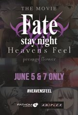 Fate/Stay Night: Heaven's Feel - I. Presage Flower Large Poster