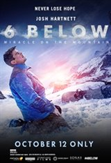 Fathom Premieres 6 Below: Miracle on the Mountain Movie Poster