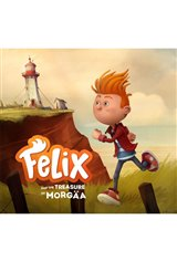 Felix and the Treasure of Morgäa Poster