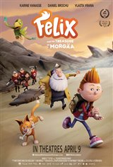 Felix and the Treasure of Morgäa Movie Poster