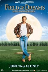 Field of Dreams 30th Anniversary (1989) presented by TCM Movie Poster