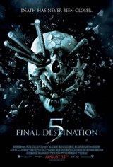Final Destination 5 3D Movie Poster