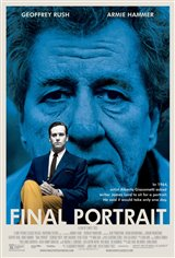 Final Portrait Movie Poster Movie Poster