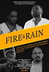 Fire and Rain Large Poster