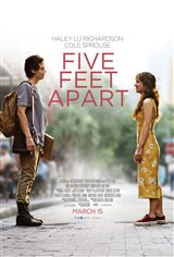 Five Feet Apart Affiche de film