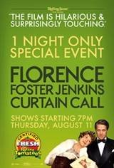 """Florence Foster Jenkins """"Curtain Call"""" Movie Poster"""