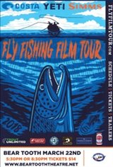 FLY FISHING FILM TOUR 2018 Movie Poster