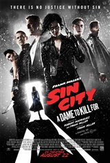 Frank Miller's Sin City: A Dame to Kill For Movie Poster Movie Poster