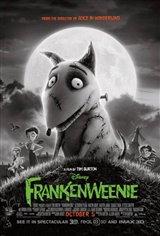 Frankenweenie 3D Movie Poster