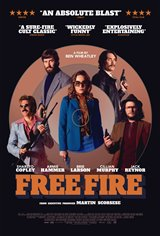 Free Fire Movie Poster