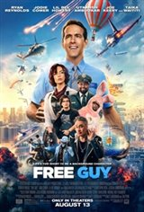 Free Guy 3D Movie Poster