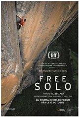 Free Solo (v.o.a.) Affiche de film