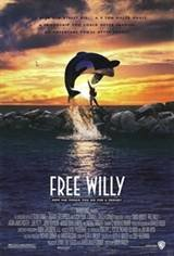Free Willy Movie Poster