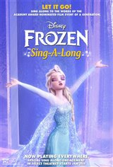 Frozen Sing-Along Movie Poster Movie Poster