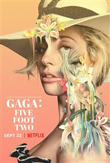 Gaga: Five Foot Two (Netflix) Affiche de film