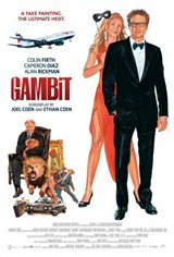 Gambit (2013) Movie Poster Movie Poster