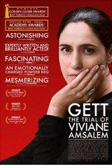 Gett: The Trial of Viviane Amsalem Movie Poster