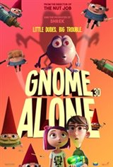 Gnome Alone Large Poster