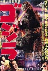 Godzilla (1954) Movie Poster