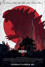 Godzilla: An IMAX 3D Experience Movie Poster